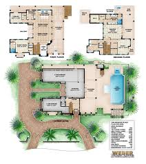 seaside place home plan caribbean coastal design 3 story