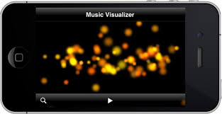 how to make a music visualizer in ios