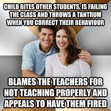 Memes About Parents - child bites other students funny parents meme image