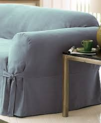 Grey Slipcover Chair Gray Couch Covers Sofa And Chair Slipcovers Macy U0027s