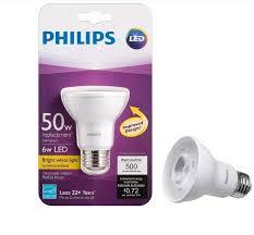 6 watt led light bulb price philips led par20 replace 50w dimmable 3000k bright white light bulb
