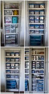 Sterilite Storage Cabinet Weeper Monty Craft Room Organization
