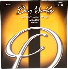 light electric guitar strings dean markley 2502 nickel steel electric guitar strings 009 042
