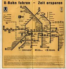 Berlin Metro Map by Scans From Collections