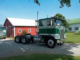 kenworth cabover history my dad u0027s 1966 kenworth k123 that he had fixed up to take to trucks