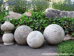 diy concrete garden spheres concrete garden diy concrete and