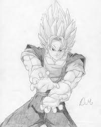 how do you draw dragon ball z pencil art drawing