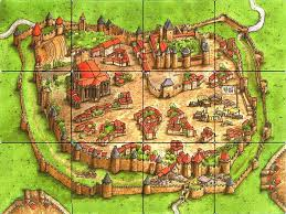 Carcassonne France Map by So This Is What Carcassonne Is Actually Like Boardgames