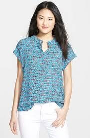 pleione blouse pleione print split neck blouse regular available at