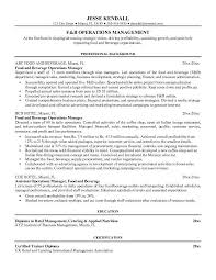 Cook Resume Examples by 6 Food And Beverage Resume Template Resume Food And Beverage