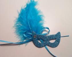 womens masquerade masks12 christmas tree blue mask etsy