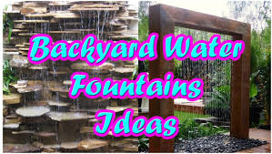 Patio Fountains Diy by Backyards Winsome Backyard Waterfall Ideas 108 Diy Small