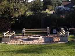 outdoor magnificent inexpensive backyard fire pit ideas outdoor