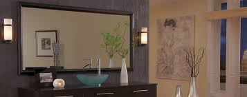 Bathroom Mirror Frames by Glass Company Edmond The Glass Guru Of Edmond Ok
