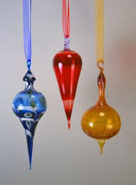 blown glass ornament by terisokoloffglass on etsy