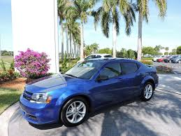 2014 used dodge avenger 4dr sedan se at royal palm mazda serving