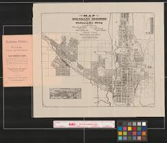 Gateway Colorado Map by Map Of The City Of Colorado Springs The Town Of Colorado City