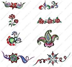 free roses and fairy tattoo designs henna mehndi designs