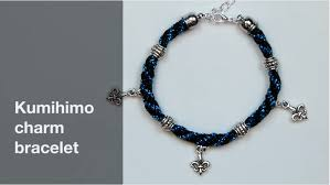 braided bracelet with charms images Braided bracelet pandahall beads jewelry blog png