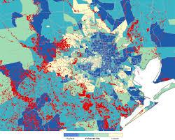 Hurricane Map Hurricane Harvey Hit Low Income Communities Hardest