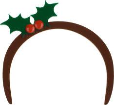 mistletoe headband ghosts of christmas jewellery past tatty
