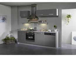 cuisine 7 meubles dinah extension lave vaisselle gris brillant
