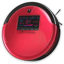 amazon com bobsweep pethair robotic vacuum cleaner and mop rouge