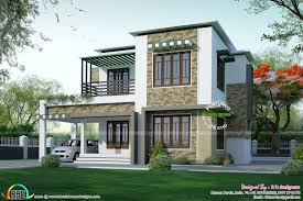 Different House Plans Two Different Elevation With Same House Plan Kerala Home Home