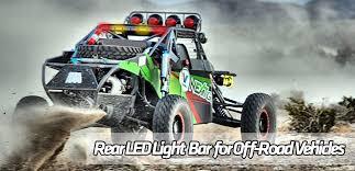 rear race light bar rlb store the ultimate off road utv side by side dune prerunner