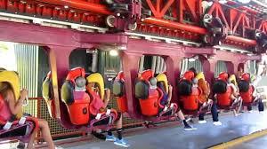 6 Flags Discovery Kingdom V2 Vertical Velocity Six Flags Discovery Kingdom Vallejo Youtube