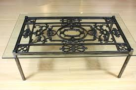 Patio Coffee Table Ideas Wrought Iron Patio Coffee Table