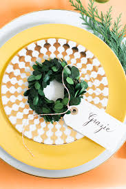 holiday tabletop a very citrus christmas coco kelley coco kelley