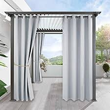 Patio Drapes Outdoor Amazon Com Cofty Indoor Outdoor Curtains And Drapes Eco Friendly