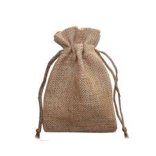 jute sack bag burlap bag with pouch disposable tree bag