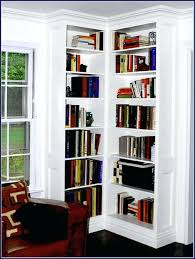 Corner Bookcase Ideas Corner Bookcase Building Bookshelves Into A Corner Corner Bookcase