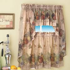 Retro Kitchen Curtains by Rooster Kitchen Curtains Kenangorgun Com