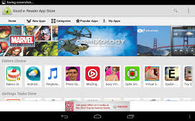 free app stores for android e reader app store launches new developers portal
