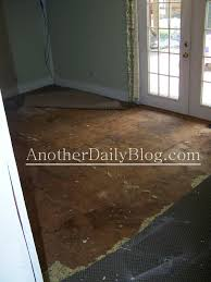 Laminate Flooring Looks Like Wood Another Daily Blog Diy How To Make Plywood Subfloor Look Like