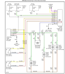 wiring diagram power door lock actuator wiring diagram power