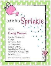 what is a sprinkle shower sprinkle baby shower invitation wording jankoelling me