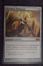 akroma s memorial akroma s memorial 200 249 magic the gathering ebay