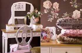 coiffeuse chambre ado chambre enfant déco chambre ado fille coiffeuse papier peint