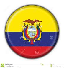 Quechua Flag Ecuador Button Flag Round Shape Stock Illustration Image 4758714
