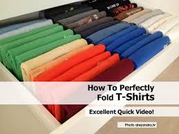 alejandra tv how to perfectly fold t shirts