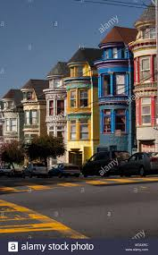 california style houses victorian style houses in a city haight ashbury san francisco