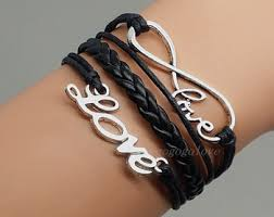 black leather love bracelet images Leather love bracelet the best of 2018 jpg