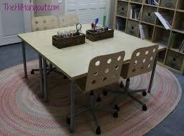 Homeschool Desk Home Room Makeover