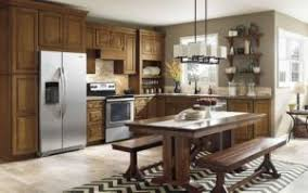China Island Style American Kitchen Cabinet Solid Wood Modular - American kitchen cabinets