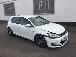 white volkswagen gti 2016 volkswagen golf 2 0 gtd mk7 5 door alpine white unrecorded