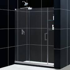 1400 Shower Door Dreamline Mirage 60 X 72 Frameless Sliding Shower Door